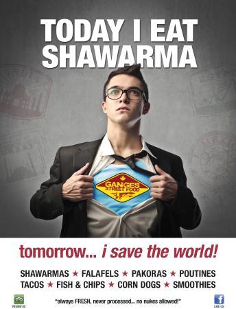 Ganges Street Food: Shawarma saves the World