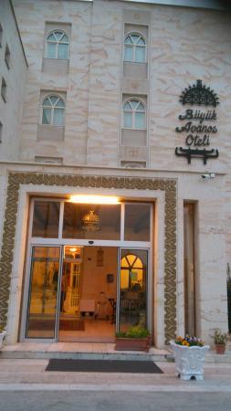 Buyuk Avanos Hotel: giriş kapısı
