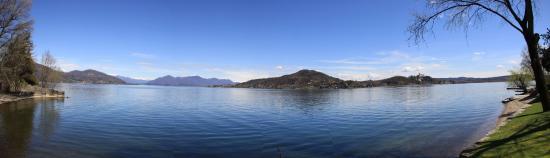 Meina, Italia: vista dalle camere