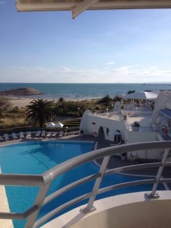 vue picture of les corallines hotel thalasso spa la grande motte tripadvisor. Black Bedroom Furniture Sets. Home Design Ideas