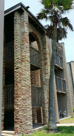 Marisol Condominiums: back of condo