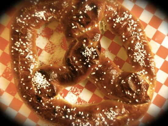 VBGB Beer Hall & Garden/Restaurant : The most talked about Pretzel on the East Coast :p