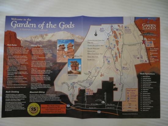 Brochure Picture Of Garden Of The Gods Colorado Springs Tripadvisor