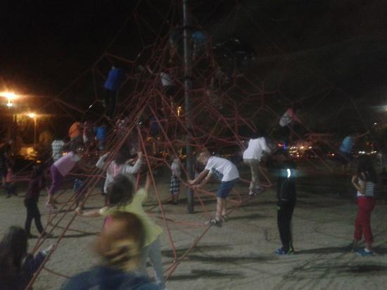 Elite Hotel Kucukyali : One of the park playgrounds.