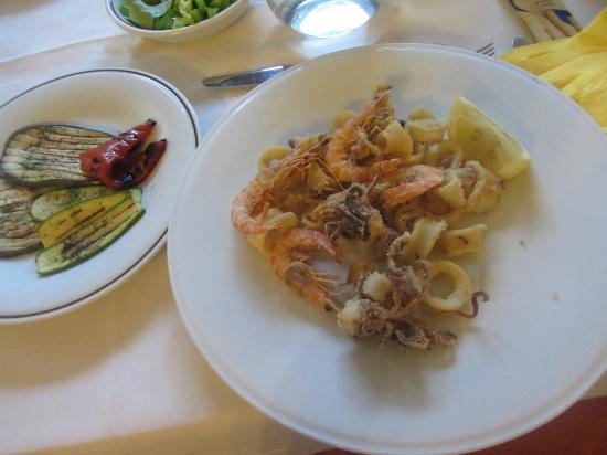 Hotel Anfora : Fritto di pesce
