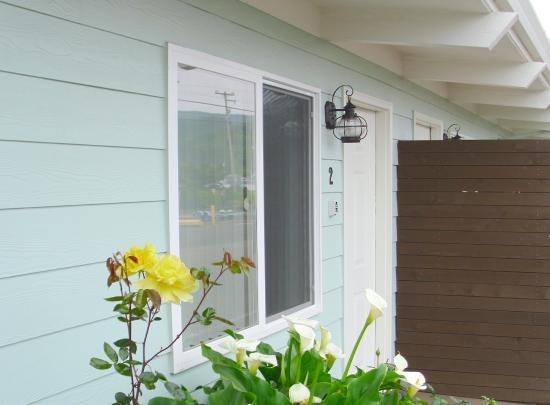 Harborview Inn & RV Park: All of our rooms are ground floor
