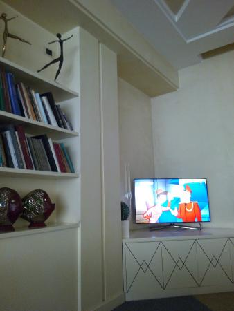Hotel Brescia: sala tv