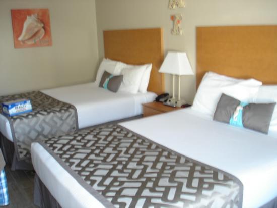 Beachside Motel: The room
