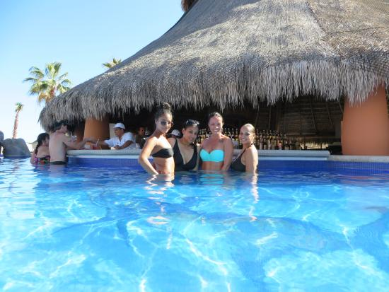 Swim Up Bar Favorite Spot Picture Of Sandos Finisterra Los Cabos