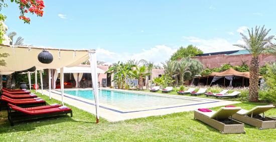 Coco Canel: piscine