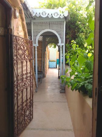 Riad Armelle: Direkt vor unserer Zimmertür