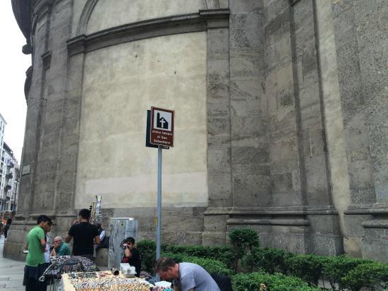Civico Tempio di San Sebastiano : lateral