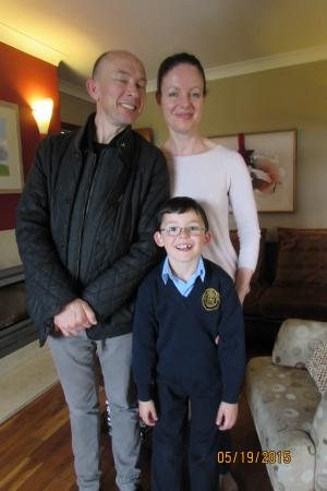 Bunratty Meadows Bed and Breakfast: The owners.