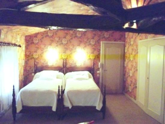 Cierzac, France: chambre