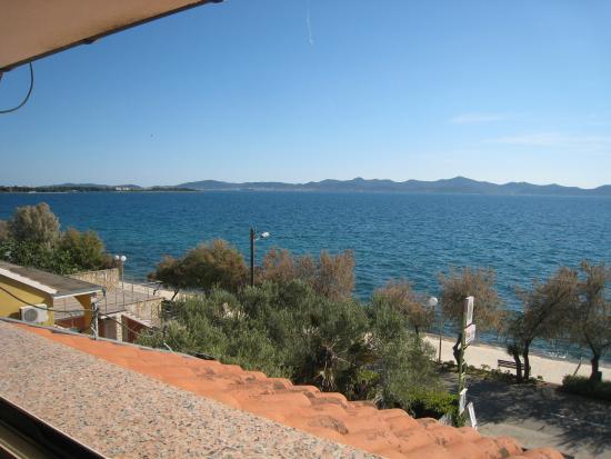 Hotel Villa Nico: La vue depuis la chambre