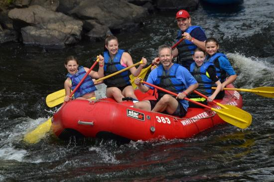 Weatherly, PA: Father Daughter Rafting Trip on The Lehigh River