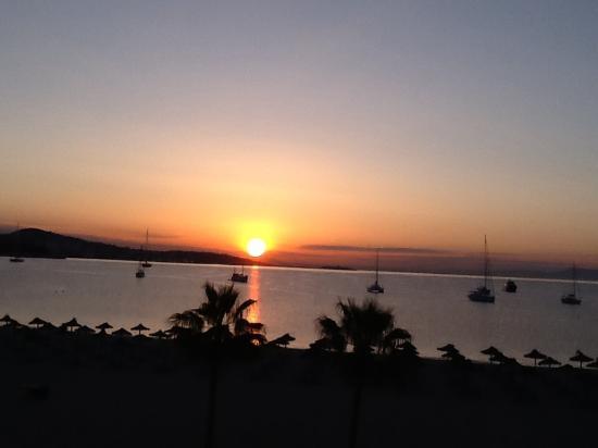Hotel Son Matias Beach : Sunset from room 302