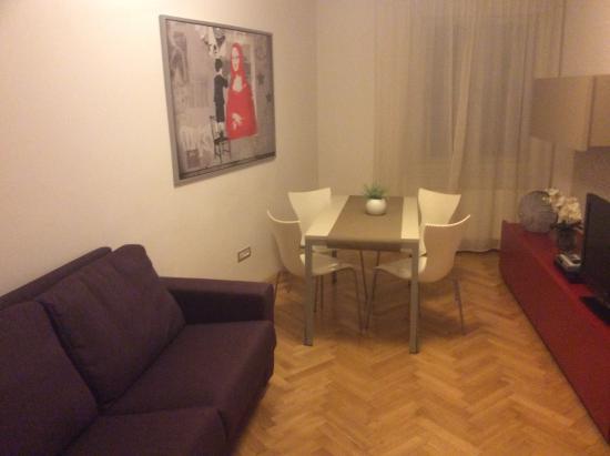 Salvator Superior Apartments: Living area