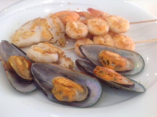 Umi Sushi Wok: Pesce cotto al momento