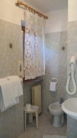 Albergo Ponte: il bagno