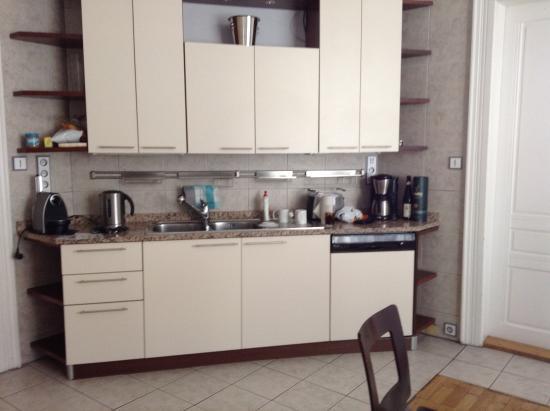 Residence Brehova - Prague City Apartments: Kitchen