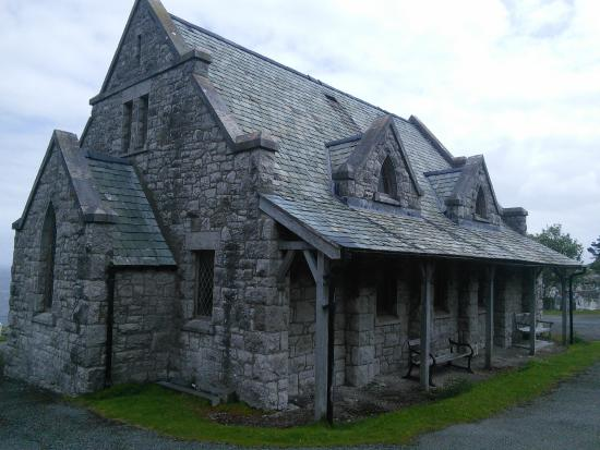 St. Tudno's Church: Back detail