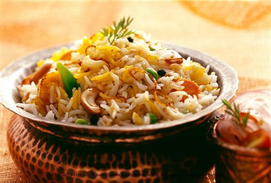 Delhi Darbar: Vegetable Biryani