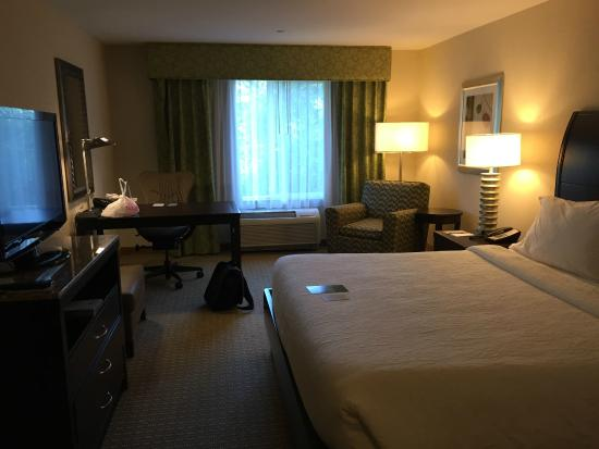Hilton Garden Inn Seattle Bothell Wa Standard King Room