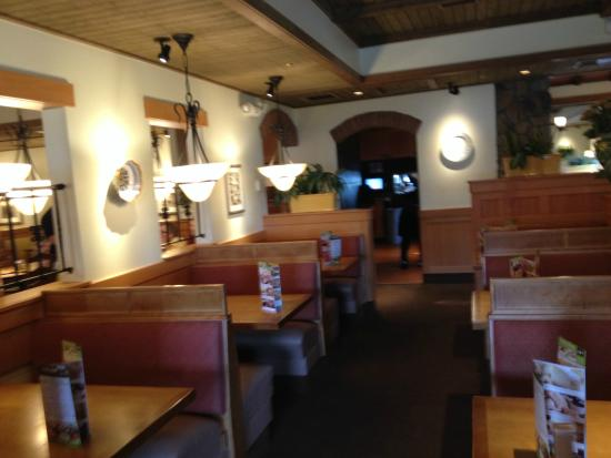 Interior picture of olive garden morehead city