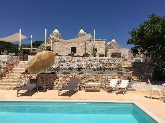 Lemoredinella: Vista dalla piscina