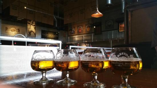 Barrelworks at Firestone Walker Brewery: Beer Flight