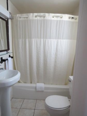 Americas Best Value Inn Palmyra/Hershey: Bathroom