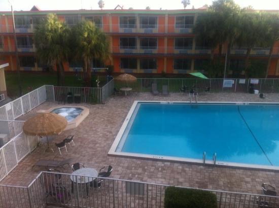 swimming pool from my room picture of roomba inn suites daytona beach tripadvisor