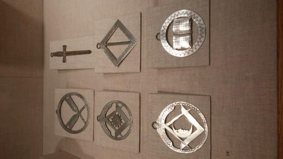 Paul Revere Silver Masonic Medals - Picture of Worcester Art Museum