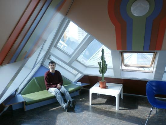 Foto de kijk kubus show cube rotterdam interior das - Casas cube opiniones ...