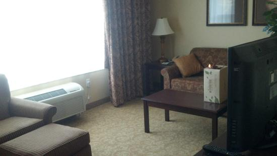 Comfort Inn & Suites McMinnville: Separate living area