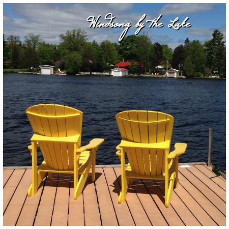 Windsong by the Lake Bed & Breakfast : Enjoy the view from the dock at Windsong by the Lake B&Br