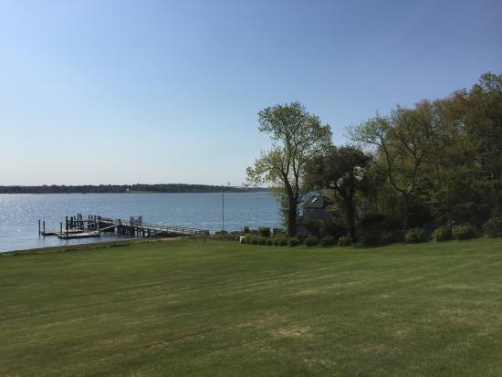 Point Pleasant Inn: View from rear of house to waterfront