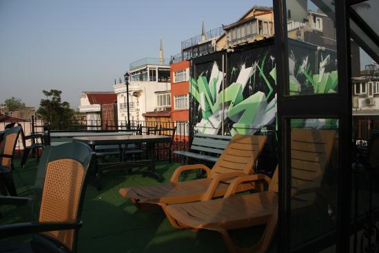 Antique Hostel - Guest House: ดาดฟ้า