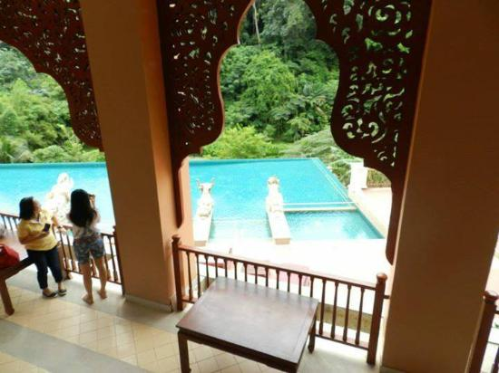 Sukko Cultural Spa & Wellness Resort: วิวจากชั้นบนก่อนไปสปา