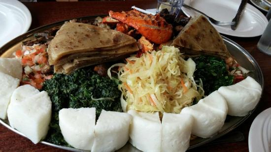 Swahili Village: Platters for 5 or 8 people