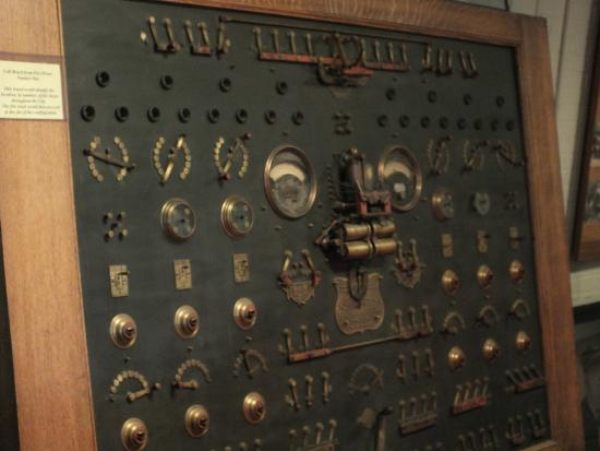 William Clark Market House Museum: Alarm Panel