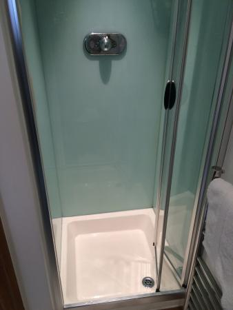 The Rockwell: TINY shower stall