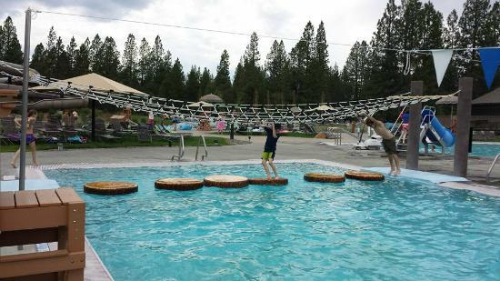Sunriver Homeowners Aquatic & Recreation Center: Rope course