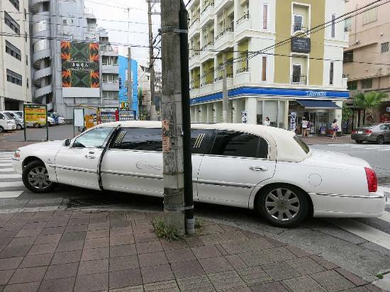 Comfort Hotel Naha Prefectural Office: 車も止めやすい