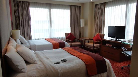 Courtyard by Marriott Bangkok: Beds