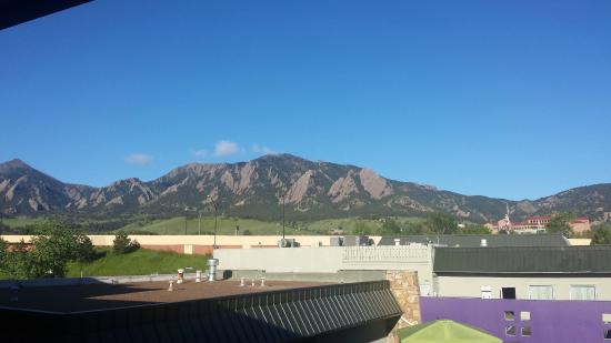 Best Western Plus Boulder Inn : View from our room