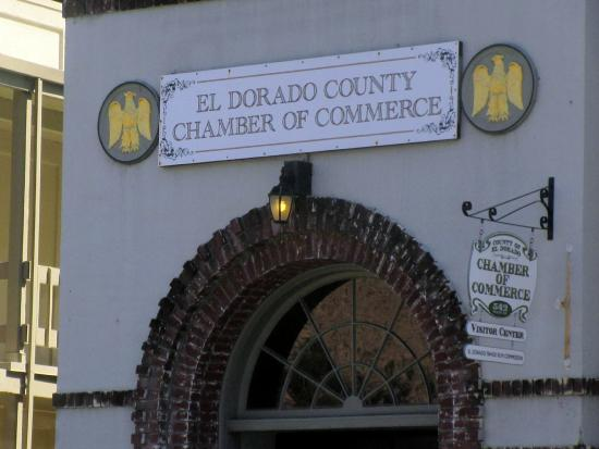 El Dorado County Chamber of Commerce, Main Street, Placerville, Ca