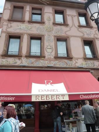Patisserie Daniel Rebert: 店の外観