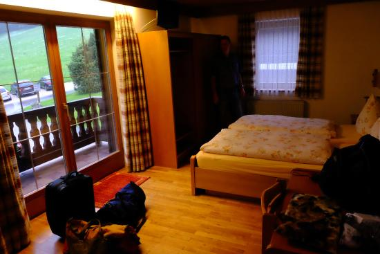 Hotel Lampllehen: One of our rooms.